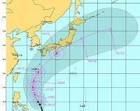 GUCHOL (BUTCHOY) bei den Philippinen ist der erste Supertaifun (Super Typhoon) der Taifunsaison 2012