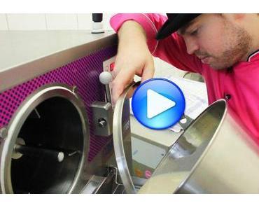 Eis aus Weißwurst, Senf oder Bier: Zu Besuch beim verrückten Eismacher [Video]