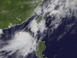 Tropischer Sturm TALIM aktuell: Hong Kong deaktiviert Sturmwarnungen, jetzt Taiwan im Visier