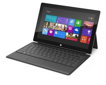 Microsoft Surface-Tablets als Konkurrenz für iPad?
