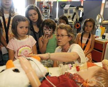 Kinderfest: Für einmal zum Spass ins Kinderspital