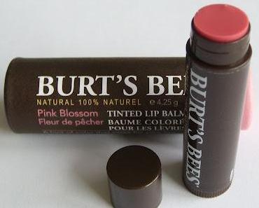 Burt's Bees Tinted Lipbalm Pink Blossom
