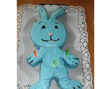 Kikaninchen Kuchen zum 3. Geburtstag