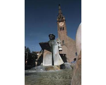 Vorschau: Lesung am Lutherbrunnen in Ludwigshafen
