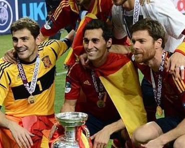 Spanien schreibt Fussballgeschichte gegen Italien