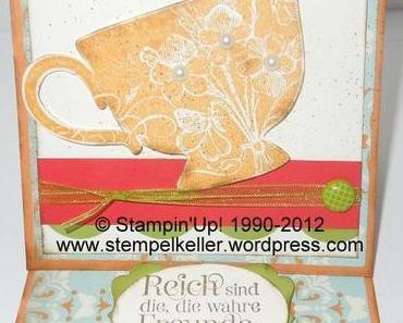 Bänder, Klammern und Designerpapier von Stampin'Up!