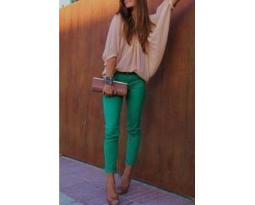Grün, grün, grün sind alle meine Kleider….
