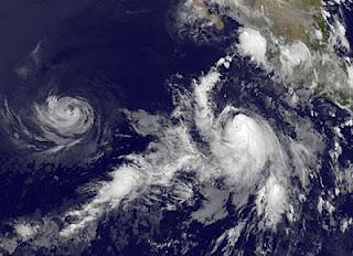 FABIO übernimmt das Kommando im Nordost-Pazifik