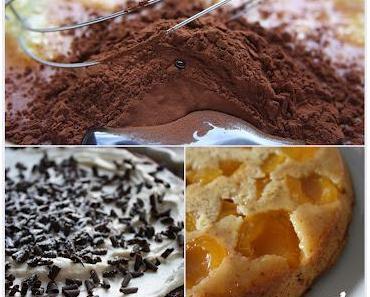 Mississippi-Mud-Pie und Aprikosen Tarte Tartin