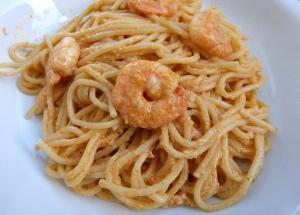 Essen ist fertig: Rosa Garnelensauce …meine Lieblingssauce zu Spaghetti