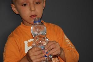 Sprudelwasser und Luftdruck