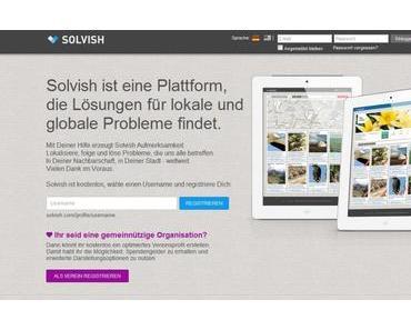 Solvish.com – Löse Probleme in deiner Umgebung
