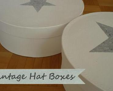 DIY – Vintage Hat Boxes