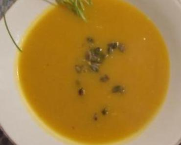 Ein Herbsthammer: Kürbissuppe und süßer Feigen-Nachtisch