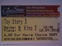 Toy Story 3 (12.09.2010)