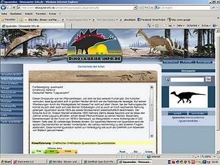 Alles über Dinosaurier bei www.dinosaurier.info.de