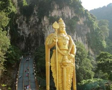 Kuala Lumpur – Batu Caves und die Twin Towers