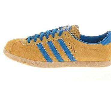 Adidas Originals London - gelb/blau