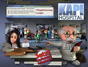 Dein eigenes Krankenhaus dank KapiHospital.de