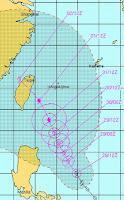 Tropischer Sturm SAOLA / GENER voraussichtlich als Taifun nach Taiwan