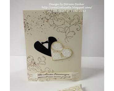 Hochzeitseinladungskarte * Geschenkverpackung