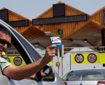 """""""No quiero pagar"""" – Protest provoziert Verkehrs-Chaos auf der Autobahn AP-7"""