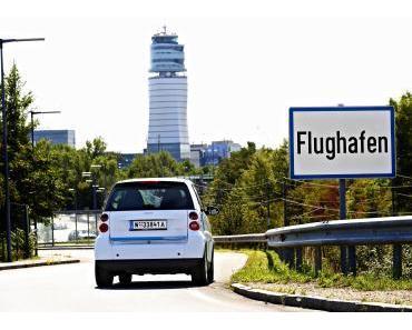 Mit car2go stressfrei zum Flughafen Wien