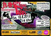 Skatecontest im Bürgerpark Pankow