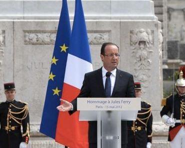 """François Hollande: """"Wir brauchen die Wahrheit über die Geschehnisse vor 70 Jahren"""""""