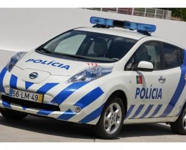 Nissan Leaf kommt zur Polizei