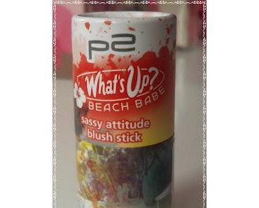 "Neue LE´s : p2  Blush Stick und Essence ""Miami"" Rouge"