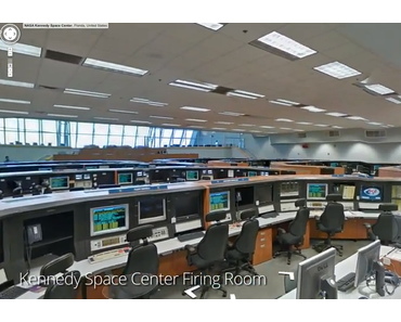 Google Street View Tour im Kennedy Space Center