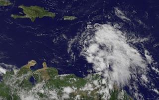 Tropischer Sturm ERNESTO weiter mit Kurs auf Riviera Maya, Yucatán