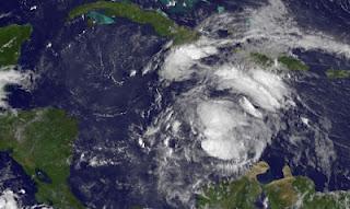 Tropischer Sturm ERNESTO aktuell: Sturmwarnung Jamaica und Honduras