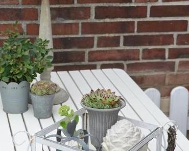 outdoor decoration-  Draußen Dekoration