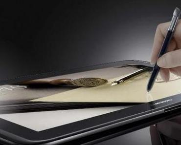 Samsung Galaxy Note 10.1: offizielles Video und Specs