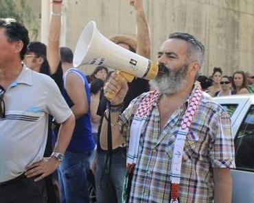 """Protest im Supermarkt: """"Wenn man das Volk enteignet, müssen wir die Enteigner enteignen!"""""""