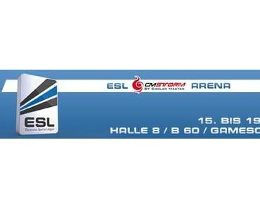 gamescom: Volles Programm in der ESL CM Storm Arena