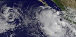 Pot. Tropischer Sturm HECTOR wird wahrscheinlich Hurrikan - Mexiko momentan nicht von Landfall bedroht