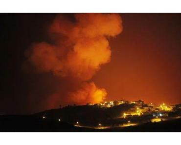 Feuer auf La Gomera: Bereits ein Viertel der Bevölkerung evakuiert