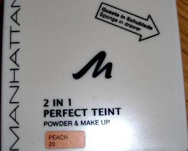 MANHATTAN 2 in 1 Perfect Teint Powder & Make Up