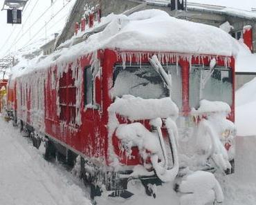 DEUTSCHE BAHN: Und natürlich ist die Deutsche Bahn auch auf den Winter bestens vorbreitet