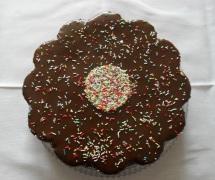 Süße Blume mit dem Tortenring der LARES Blechwarenfabrikation GmbH