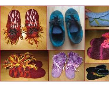 Neuer Workshop: Filzen von Taschen & Puschen