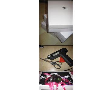 [DIY] Glossybox Schubladen-Schränkchen