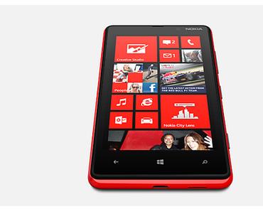 Nokia Lumia 820: Smartphone mit Windows Phone 8 offiziell vorgestellt