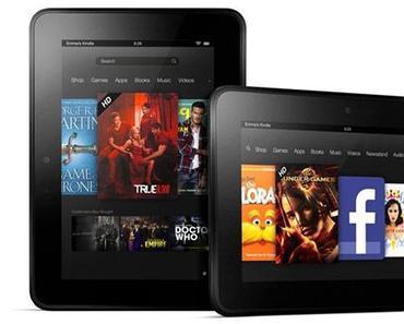 Amazon Kindle Fire: neu vorgestellte Tablets nur mit Werbung zu haben