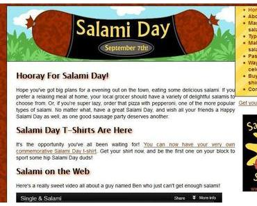 Salami Day – Der Tag der Salami