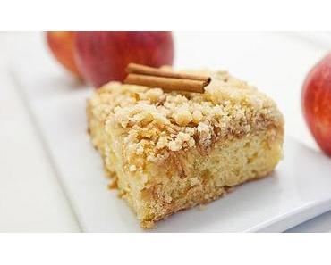Österreichisches Apfel-Streuselkuchen Rezept