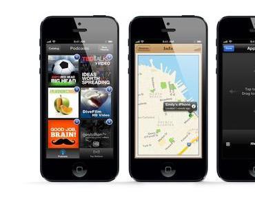 iPhone 5 schlägt Galaxy S3, das neue iPad und das iPhone 4S in Benchmark